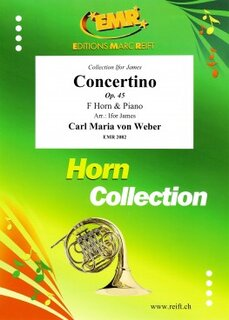 Concertino Op. 45 (Ifor James) (Horn in F)