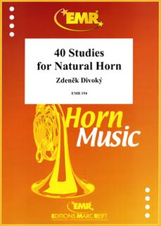 40 Studies For Natural Horn (Horn in F)