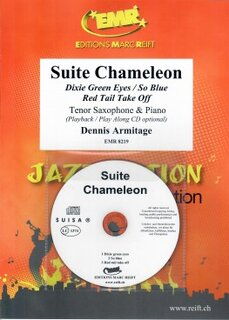 Suite Chameleon + CD (Tenor Saxophone)