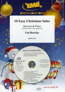 10 Easy Christmas Solos (Fagott)