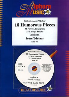18 Humorous Pieces (Alphorn)