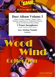 Duet Album Volume 3  (2 Tenor Saxophones)