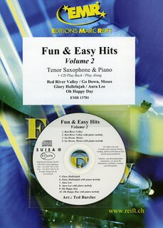 Fun & Easy Hits Volume 2  (Tenor Saxophone)