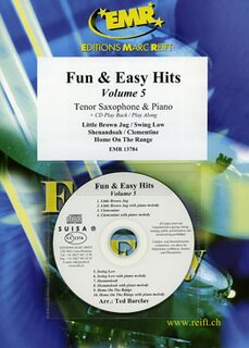 Fun & Easy Hits Volume 5  (Tenor Saxophone)