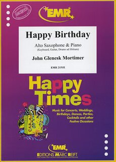 Happy Birthday (Alto Saxophone)