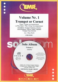 Solo Album Vol. 01 + CD  (Kornett)