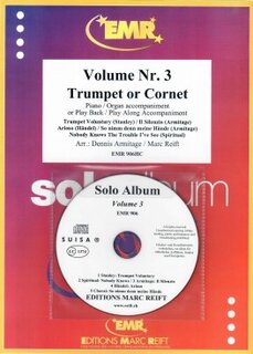 Solo Album Vol. 03 + CD  (Kornett)