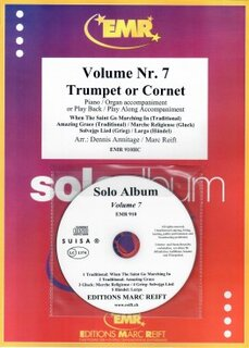 Solo Album Vol. 07 + CD  (Kornett)