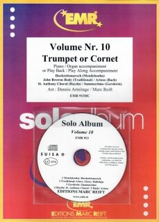 Solo Album Vol. 10 + CD  (Kornett)