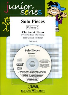 Solo Pieces Vol. 2 (Klarinette)