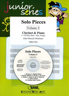 Solo Pieces Vol. 5 (Klarinette)