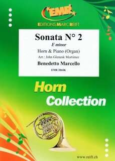 Sonata N� 2 in E minor (Horn in Es)