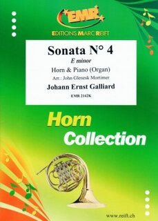 Sonata N° 4 in E minor (Horn in Es)