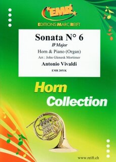 Sonata N° 6 in Bb major (Horn in Es)