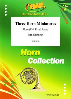 Three Horn Miniatures (Horn in Es)