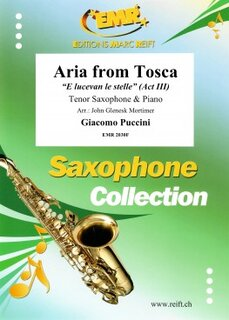 Aria from Tosca (Tenor Saxophone)