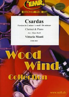 Csardas (version in C minor) (Klarinette)