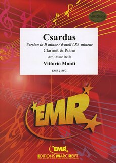 Csardas (version in D minor) (Klarinette)