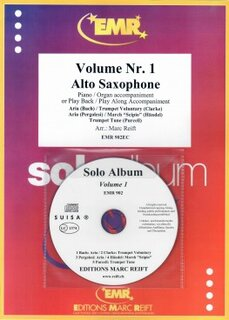 Solo Album Vol. 01 + CD  (Alto Saxophone)