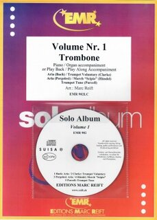 Solo Album Vol. 01 + CD  (Posaune)
