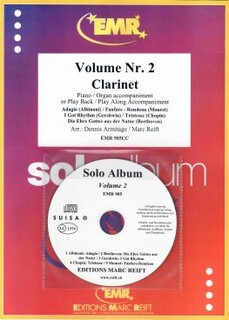 Solo Album Vol. 02 + CD  (Klarinette)