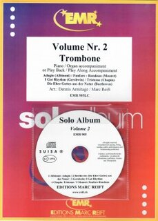 Solo Album Vol. 02 + CD  (Posaune)