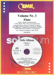 Solo Album Vol. 03 + CD  (Flöte)