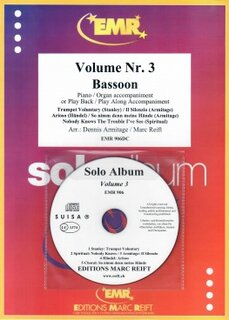 Solo Album Vol. 03 + CD  (Fagott)