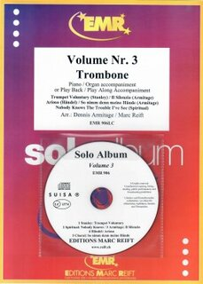 Solo Album Vol. 03 + CD  (Posaune)