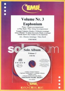 Solo Album Vol. 03 + CD  (Eufonium)