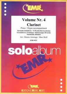 Solo Album Vol. 04  (Klarinette)