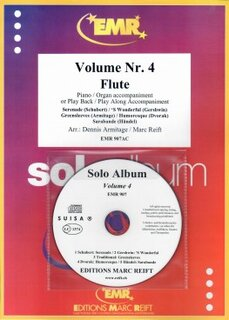 Solo Album Vol. 04 + CD  (Fl�te)