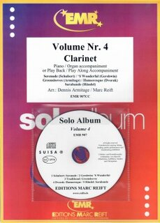 Solo Album Vol. 04 + CD  (Klarinette)