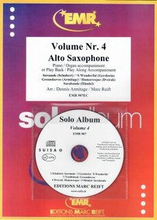 Solo Album Vol. 04 + CD  (Alto Saxophone)