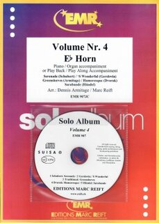 Solo Album Vol. 04 + CD  (Horn in Es)