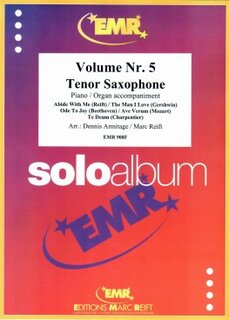 Solo Album Vol. 05  (Tenor Saxophone)