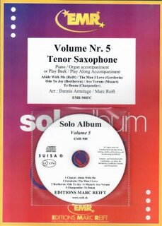 Solo Album Vol. 05 + CD  (Tenor Saxophone)
