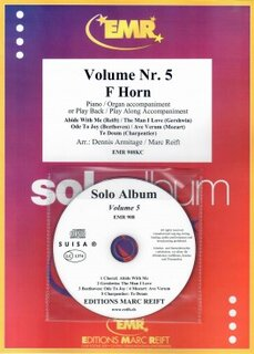 Solo Album Vol. 05 + CD  (Horn in F)