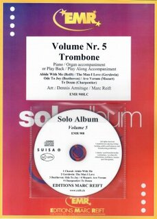 Solo Album Vol. 05 + CD  (Posaune)