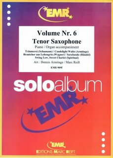 Solo Album Vol. 06  (Tenor Saxophone)