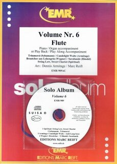 Solo Album Vol. 06 + CD  (Flöte)