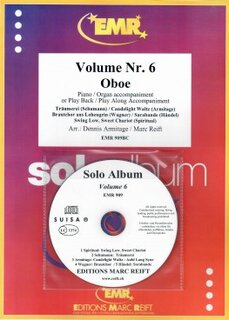 Solo Album Vol. 06 + CD  (Oboe)