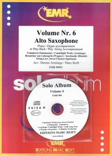 Solo Album Vol. 06 + CD  (Alto Saxophone)