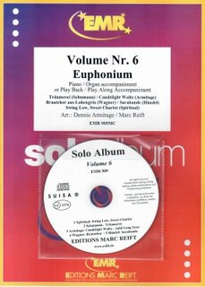 Solo Album Vol. 06 + CD  (Eufonium)