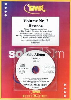 Solo Album Vol. 07 + CD  (Fagott)