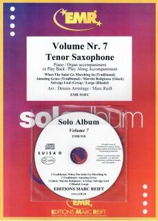 Solo Album Vol. 07 + CD  (Tenor Saxophone)