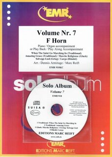 Solo Album Vol. 07 + CD  (Horn in F)