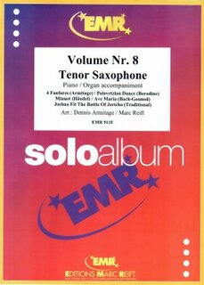 Solo Album Vol. 08  (Tenor Saxophone)