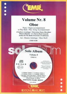 Solo Album Vol. 08 + CD  (Oboe)