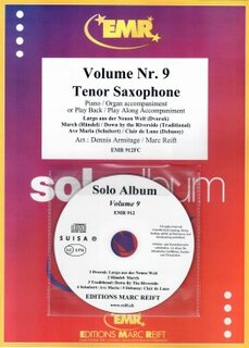 Solo Album Vol. 09 + CD  (Tenor Saxophone)